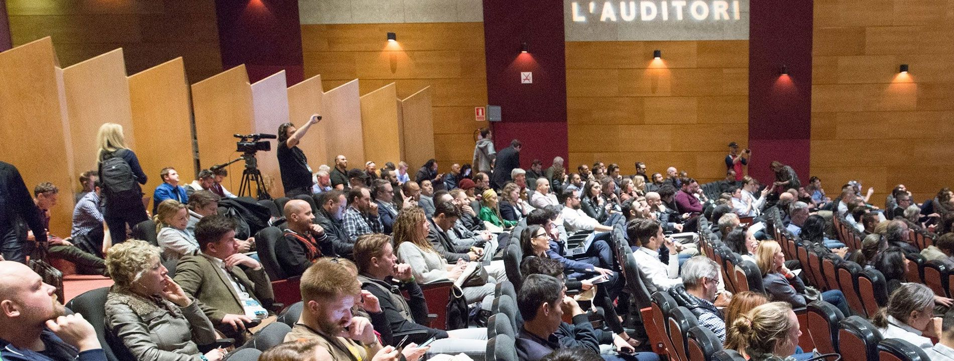 Barcelona International Cannabis Business Conference audience